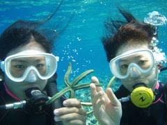 M 瀬底島体験ダイビングビーチ+どきどきマリンパック3