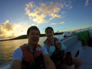 X-TRIP Smile Parasail sunset